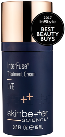 InterFuse Treatment Cream EYE bottle with InStyle 2017 Best Beauty Buys Seal